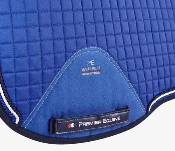 Premier Equine Close Contact European Cotton Saddle Pad - Dressage Square