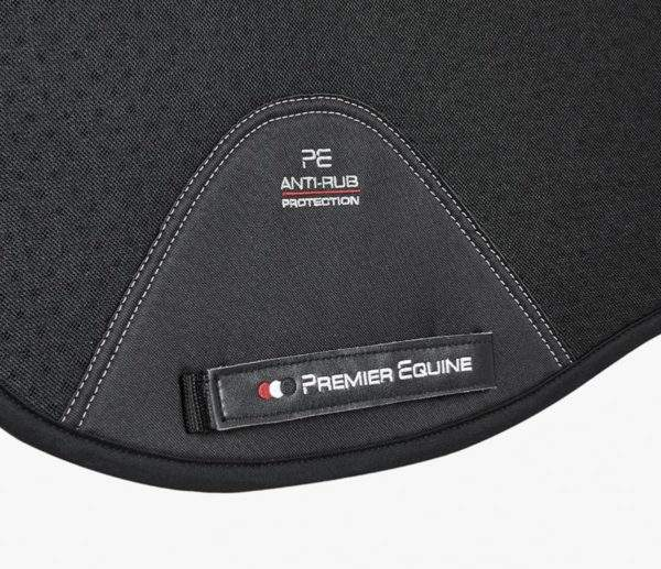 Premier Equine Close Contact Air-Tech Shockproof Wool Saddle Pad - Dressage Square