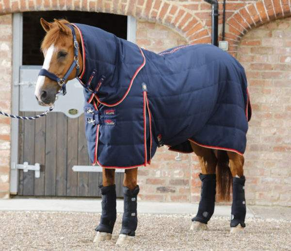 Premier Equine Stable Buster 100g Stable Rug with Neck Cover