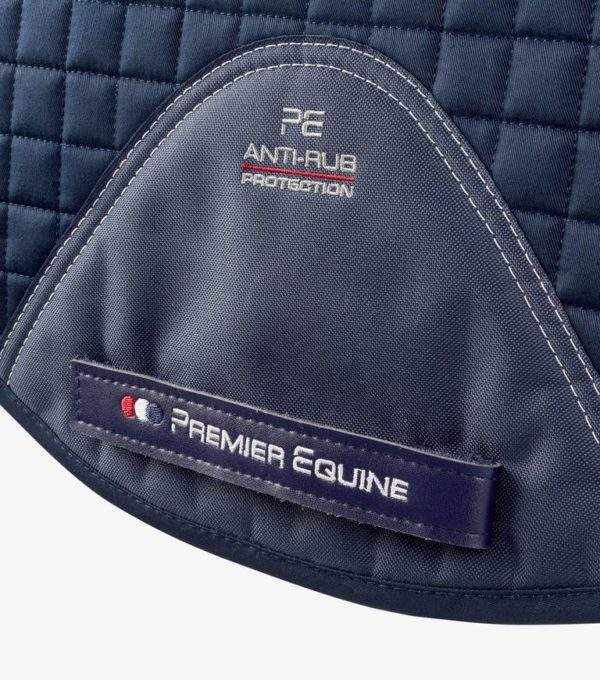 Premier Equine Close Contact Tech Grip Pro Anti-Slip Saddle Pad - Dressage Square