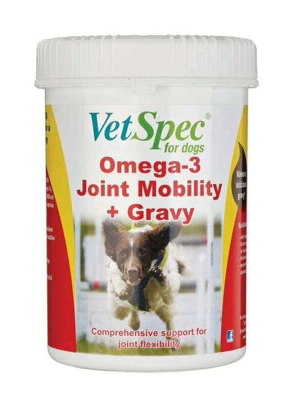VetSpec Omega-3 Joint Mobility + Gravy