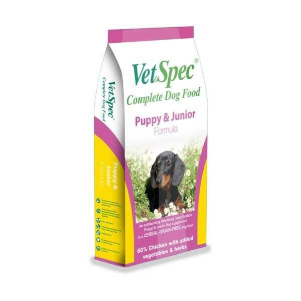 VetSpec Puppy & Junior Formula