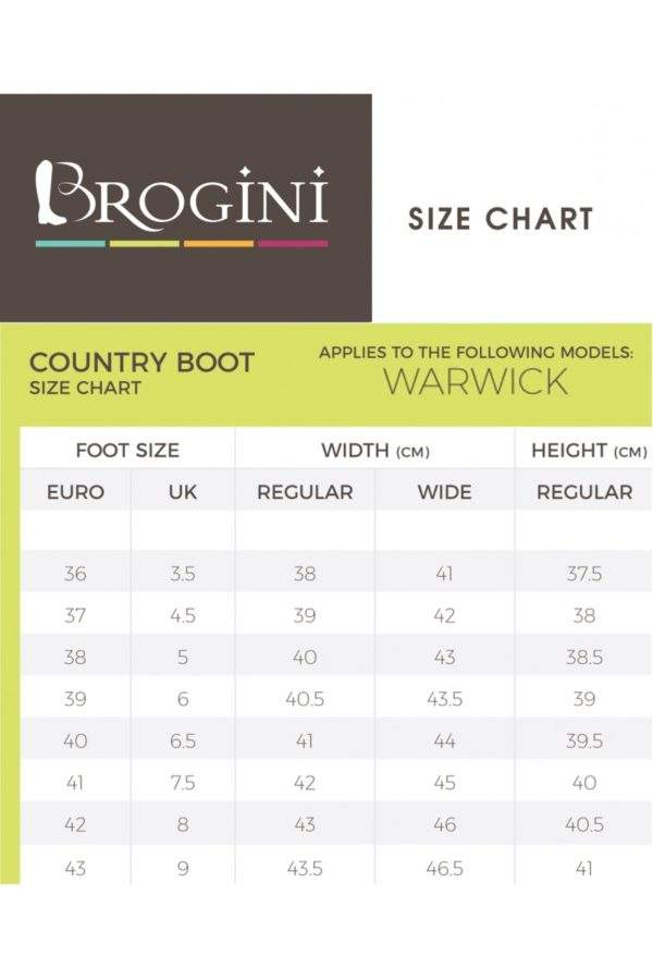 Brogini Warwick Pull On Country Boot