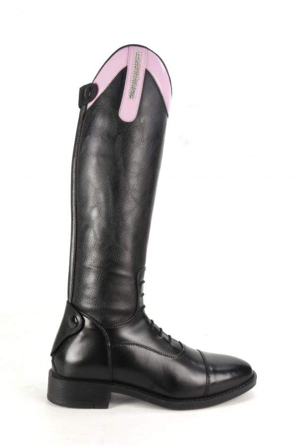 Brogini Como Piccino Young Rider Boot - Patent Top