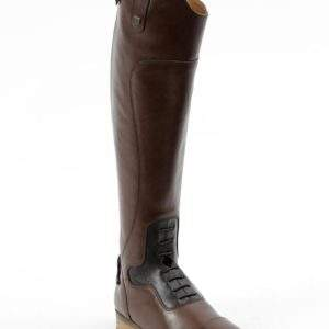 Premier Equine Dellucci Ladies Long Leather Field Riding Boot - Brown