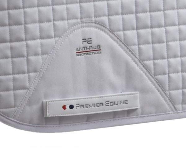 Premier Equine Close Contact Cotton Dressage Competition Saddle Pad