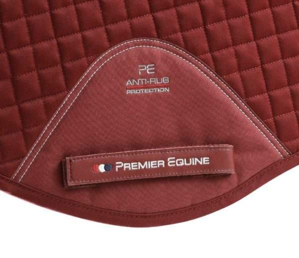 Premier Equine Close Contact Cotton GP/ Jump Saddle Pad