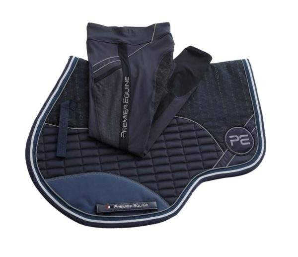 Premier Equine PE Gel Tech Printed GP/ Jump Square