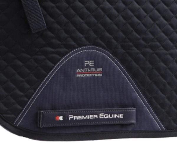 Premier Equine Pony Plain Cotton Dressage Square