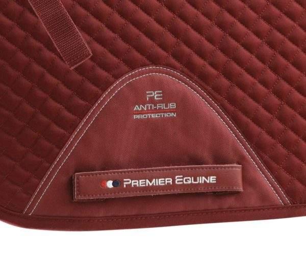 Premier Equine Pony Plain Cotton GP/ Jump Square