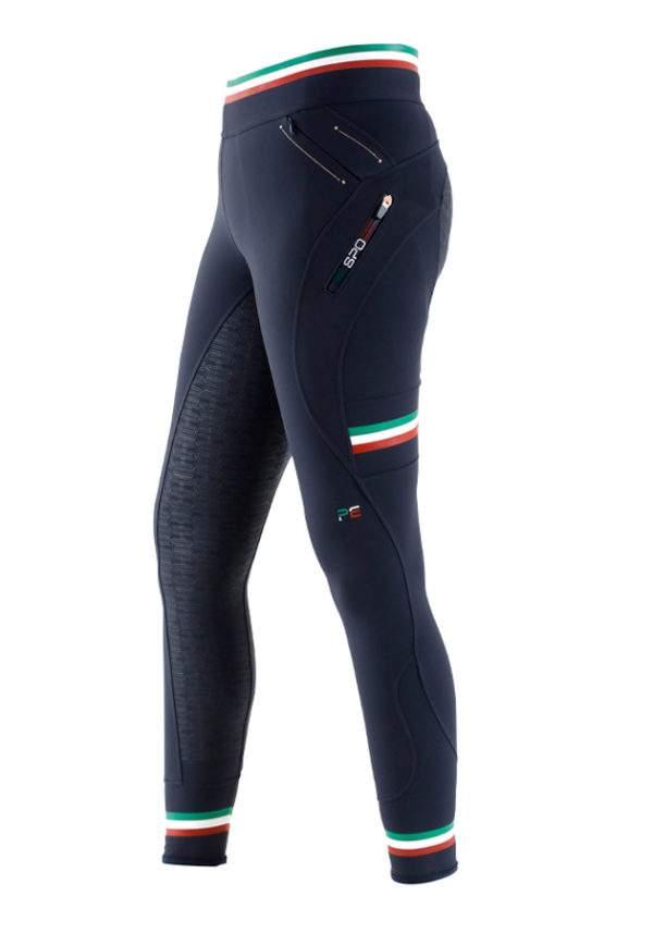 Premier Equine Italia Ladies Full Seat Gel Pull On Riding Tights