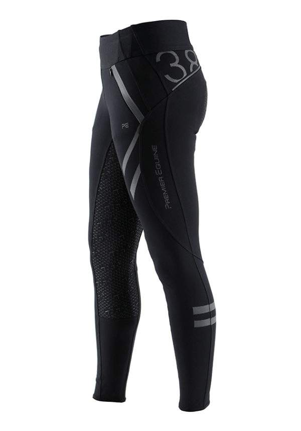 Premier Equine Tokyo Ladies Full Seat Gel Pull On Riding Tights