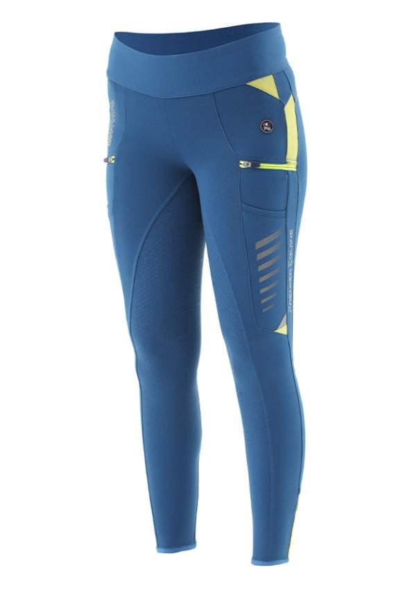 Premier Equine Viper Ladies Full Seat Pull On Riding Tights