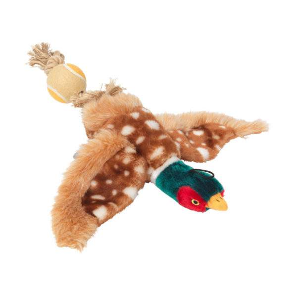 House of Paws Toy with Tennis Ball Tail - Duck