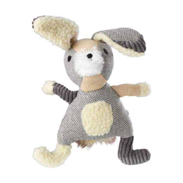 House of Paws Bushy Tail Rope Toy - Hare