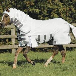 Premier Equine Pony Sweet Itch Buster Fly Rug with Belly Flap