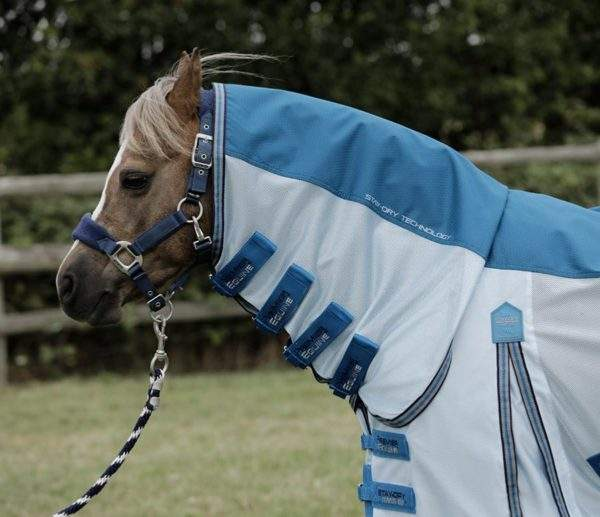 Premier Equine Pony Stay-Dry Mesh Air Fly Rug with Surcingles