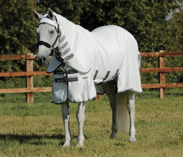 Premier Equine Sweet Itch Buster Fly Rug with Belly Flap