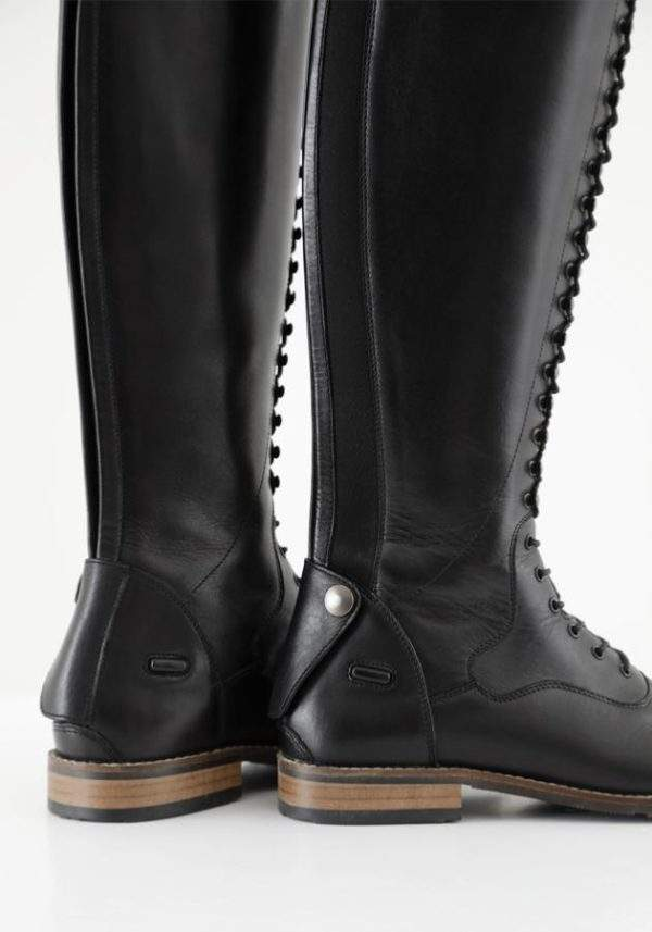 Premier Equine Maurizia Ladies Lace Front Tall Leather Riding Boots