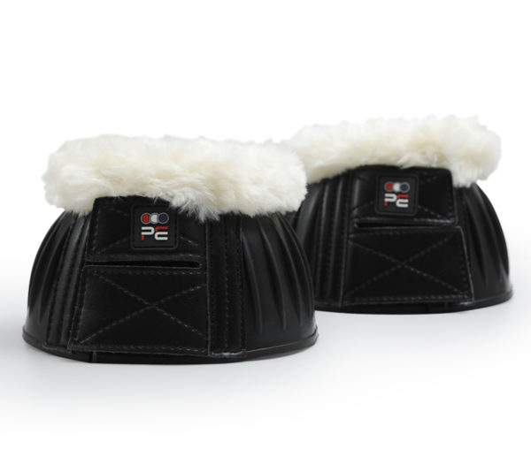 Premier Equine Techno Wool Rubber Bell Over Reach Boots