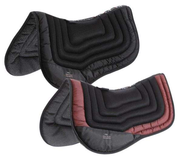 Premier Equine Anti-Slip Airflow Shockproof Racing/Training Saddle Pad