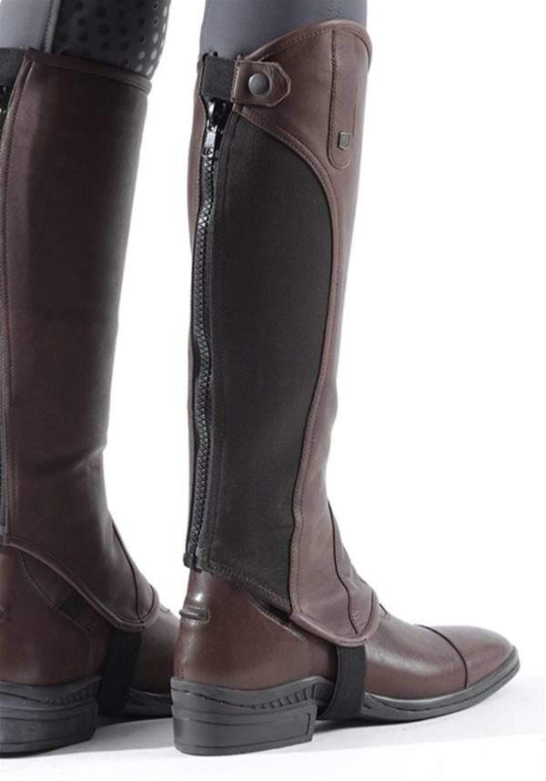 Premier Equine Emrisa Ladies Leather Half Chaps