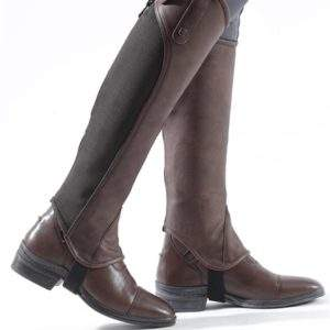 Premier Equine Emrisa Ladies Leather Half Chaps