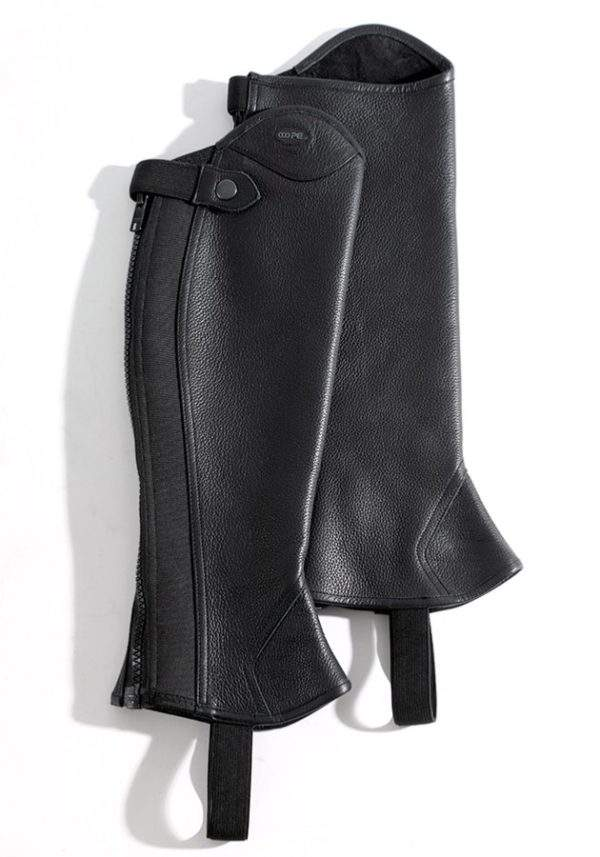 Premier Equine Lexaria Ladies Leather Half Chaps
