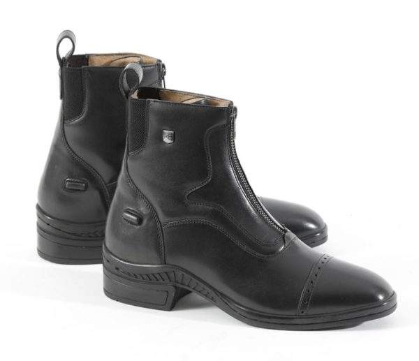 Premier Equine Loxley Ladies Leather Paddock/Riding Boots