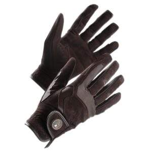 Premier Equine Milania Ladies Suede Riding Gloves
