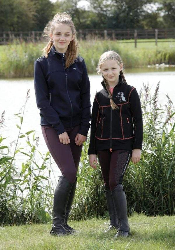 Premier Equine Astrid Kids Full Seat Gel Pull On Riding Tights