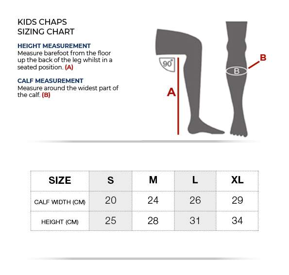 Premier Equine Loros Kids Leather Half Chaps