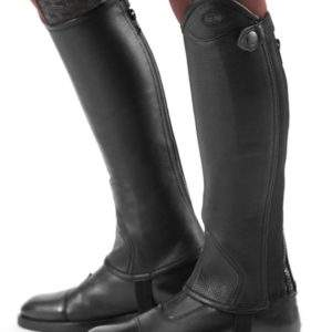 Premier Equine Loros Kids Leather Half Chaps