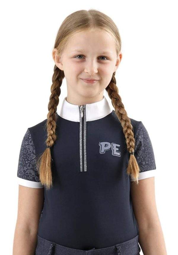 Premier Equine Ravina Kids Short Sleeved Riding Top