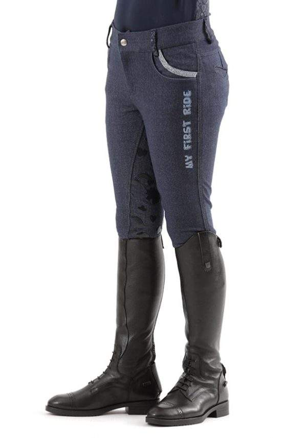 Premier Equine Sabrina Kids Full Seat Gel Riding Breeches