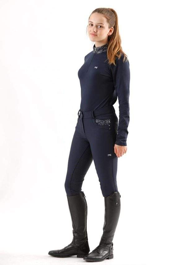 Premier Equine Fia Kids Long Sleeved Riding Top