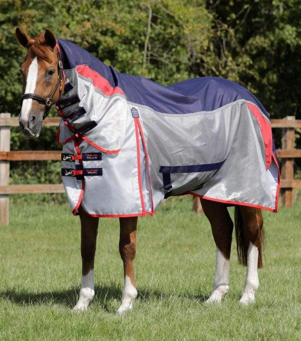 Premier Equine Buster Stay-Dry Super Lite Fly Rug with Surcingles