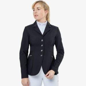 Premier Equine Challenger Ladies Competition Jacket in Black