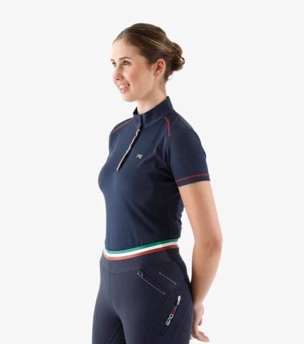 Premier Equine Dezolia Ladies Technical Short Sleeved Riding Top