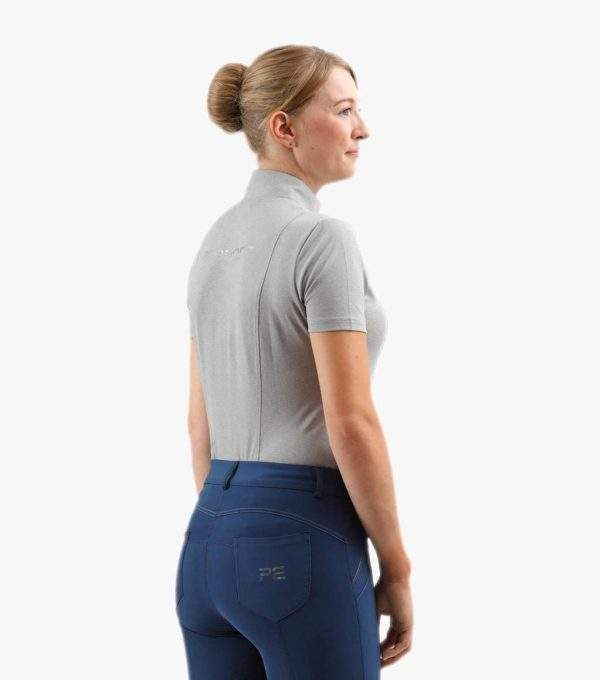 Premier Equine Lucciola Ladies Technical Short Sleeved Riding Top