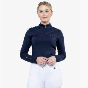 Premier Equine Arclos Ladies Technical Long Sleeved Riding Top