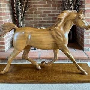 "An Arab Sculpture                              - see  ""Horse Sculptures"" section"