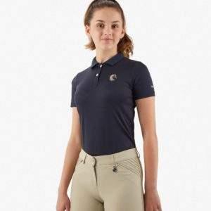 Premier Equine Kids Unisex Riding Polo Shirt