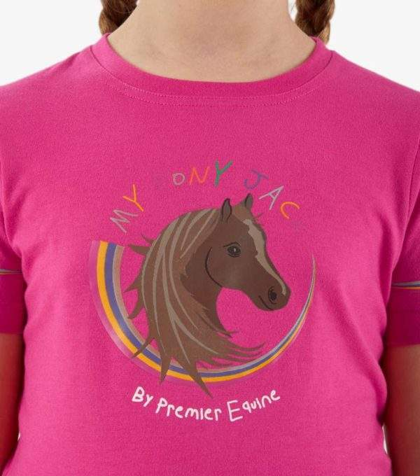 Premier Equine Milla Kids Technical Riding Top