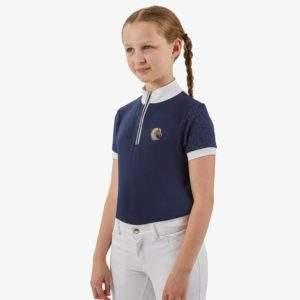 Premier Equine Ravina Kids Short Sleeved Riding Top