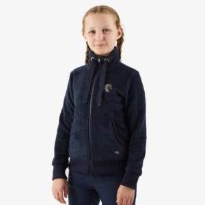 Premier Equine Sasso Kids Teddy Fleece Riding Jacket