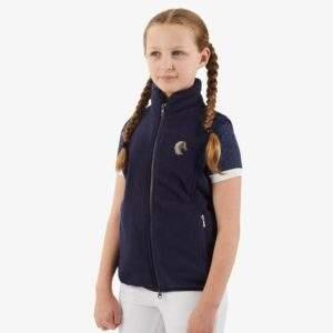 Premier Equine Sellia Kids Fleece Riding Gilet